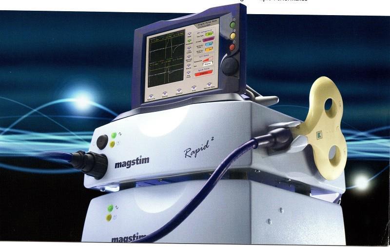 Equipamento estimulação magnética transcraniana